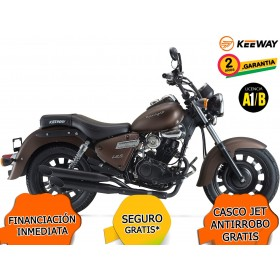 KEEWAY SUPERLIGHT 125 LIMITED EDITION E4 MARRON ORP