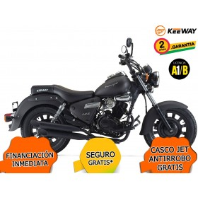 KEEWAY SUPERLIGHT 125 LIMITED EDITION E4 NEGRO ORP