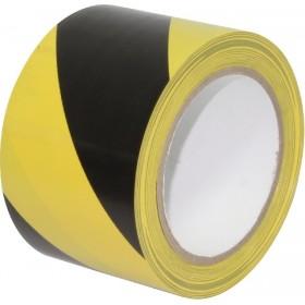 cinta de señalización adhesiva amarilla