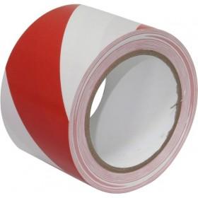 cinta de señalización adhesiva rojo