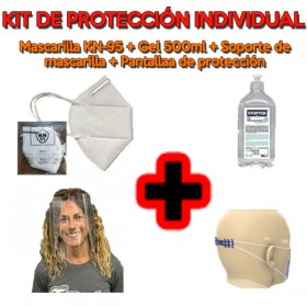 kit de protección individual ANTICOVID
