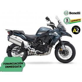 BENELLI TRK 502X 2020 CON KIT MALETAS BENELLI AZUL ORP