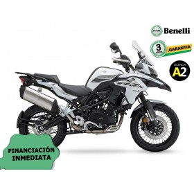 BENELLI TRK 502X 2020 CON KIT MALETAS BENELLI BLANCA ORP