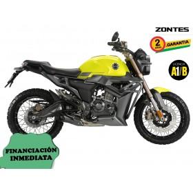 Moto Zontes G1-125 - Amarillo