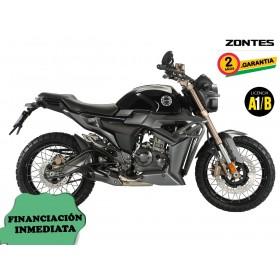 Moto Zontes G1-125 - Negro