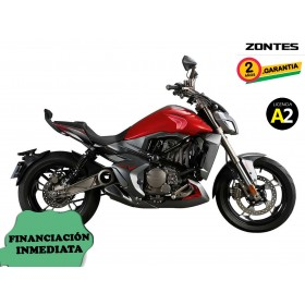 Moto Zontes V-310 roja orp