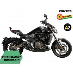 Moto Zontes V-310 negra orp