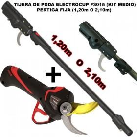 TIJERA F3015 (MEDIO) + PÉRTIGA FJA(1,30m - 2,10m)