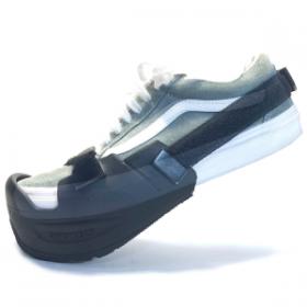 UPBIKERS con calzado de calle