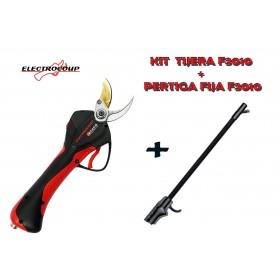 KIT TIJERA DE PODA F3010+ PERTIGA FIJA 1.20m-1.90M F3010 ELECTROCOUP