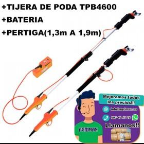 TIJERA DE PODA TPB4600 + PERTIGA (1,3M A 1,9M)