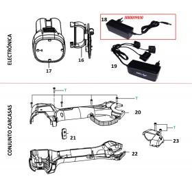 CARGADOR BATERIA EC30/TM20  (ref: 30000119030)