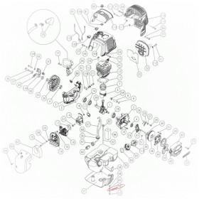 ARANDELA D 5X 15 X 1.5 CINCADA DEL MOTOR PARA VEREADOR SC605 (ref:6200400)