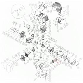ACOPLAMIENTO PARA TAPON DE COMBUSTIBLE DEL MOTOR PARA VEREADOR SC605 (ref:2117701)