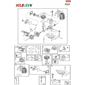 ARRANQUE COMPLETO KURIL KS63 (Ref:900010)