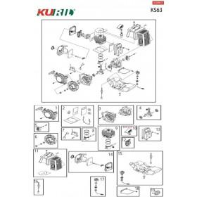 CAPUCHON BUJIA KURIL KS63 (Ref:900100)