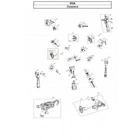CUERPO PRINCIPAL IZQUIERDO PARA ATADORA KV4 (ref:KV4R27)