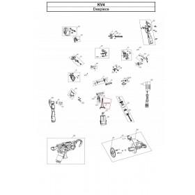 CONECTOR BATERIA PARA ATADORA KV4 (ref:KV4R02)