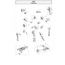 CONJUNTO ENGRANAJE EXPULSOR B PARA ATADORA KV4 (ref:KV4R06)