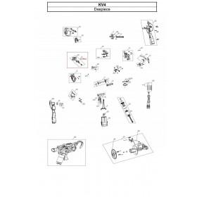 CONJUNTO TRANSMISION ATADO PARA ATADORA KV4 (ref:KV4R16)