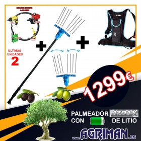 VAREADOR ATRAX ELECTRICO AL41 CON BATERÍA DE MOCHILA (EXPOSICIÓN)