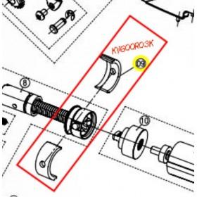 SOPORTE HUESILLO MOTOR PARA TIJERA KAMIKAZE KV600/KV700(ref:KV600R3K)