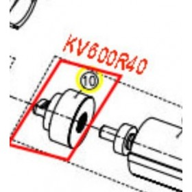 CONJUNTO REDUCTORA PARA TIJERA KAMIKAZE KV600(ref:KV600R40)