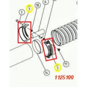 SEMI ABRAZADERA D 75 -V1200 CIFARELLI 1125100