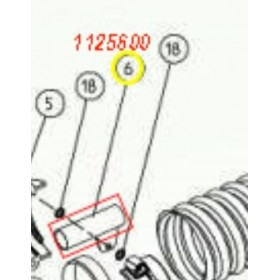 SOPORTE ABRAZADERA TUBO V1200 CIFARELLI 1125600