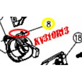 TORNILLO SOPORTE DE ENGRANAJE PARA TIJERA KAMIKAZE KV310 (ref: KV310R13)