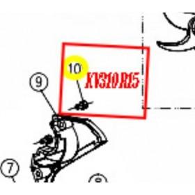 TORNILLO CARCASA HOJA PARA TIJERA KAMIKAZE KV310 (ref: KV310R15)