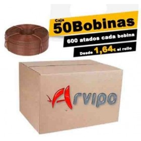 CAJA DE 50 BOBINAS DE 90 M. ORIGINALES ARVIPO