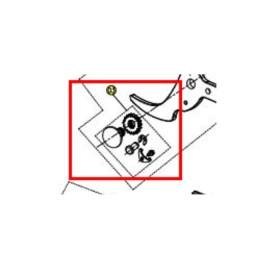Conjunto fijación hoja KV500 (Ref KV500R35)