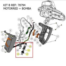 KIT B / KIT MOTORRED+BOMBA SEILON M12 REF 78794