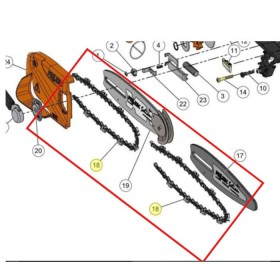 CADENA 25AP - 042E SEILON M12  REF 71550