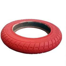 Neumático de 10x2 pulgadas Wanda para patinete Xiaomi M365, Essential, 1S, Pro/2. Color: Rojo.