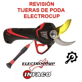 SERVICIO: REVISIÓN TIJERAS DE PODA ELECTROCUP- INFACO