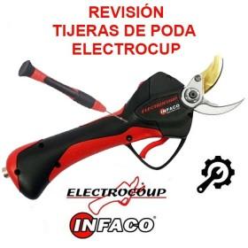 SERVICIO: REVISIÓN TIJERAS DE PODA ELECTROCUP- INFACO F3010