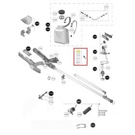(7446) BOQUILLA ULV MARRÓN Ø 1.4 PARA PULVERIZADORES PULMIC FENIX 5L/10L