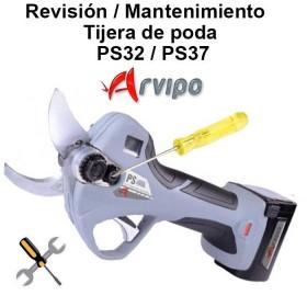 SERVICIO: REVISIÓN TIJERAS DE PODA ARVIPO PS37 / PS32