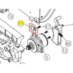 REPUESTOS ATADORA KAMIKAZE / CAMPAGNOLA: KV3R49 SENSOR Válidos para atadoras modelo: KV3 / LINKER Contenido: SENSOR