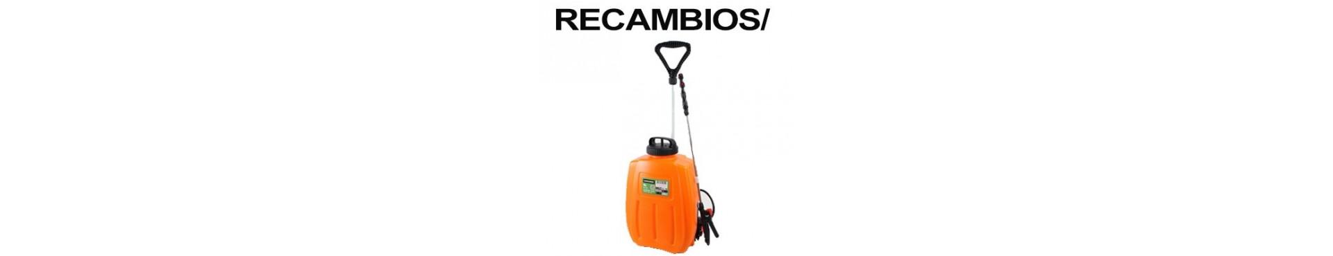 RECAMBIOS PULVERIZADOR MADER BATERÍA (49051)