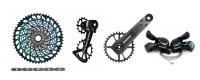 Transmisión para Bicicletas - MP RACING BIKE - Shimano, Sram, Suntour